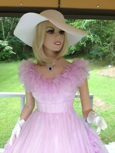 V TG. MIKE BENET SOUTHERN BELLE LILAC FAIRYTALE RUFFLE PROM GOWN DRESS SIZE 10!