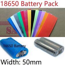 PVC Batterie Schrumpfschlauch 50mm Breite Φ32mm für 18650 Akku Batteriepack Satz