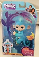 Fingerlings Interactive CHARLIE  Baby Monkey by WowWee BNIB 40+ Sounds