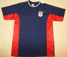 Vtg England World Cup Soccer Football Jersey By T.O.W. Large Mens Rare Item