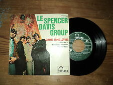 """LE SPENCER DAVIS GROUP / GIMME SOME LOVING + 3 (1967) 7"""" E.P FRENCH !!"""
