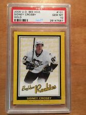 Sidney Crosby 2005-06 Beehive Gold/Yellow Rookie Card PSA Graded 10