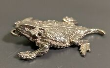 Pewter Horned Toad Pendant