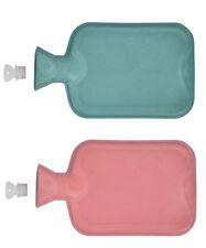 2x Wärmflasche Gummi 1 Liter | Wärmeflasche | Wärmekissen | Bettflasche