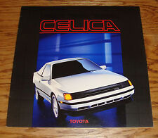 Original 1987 Toyota Celica Deluxe Sales Brochure 87