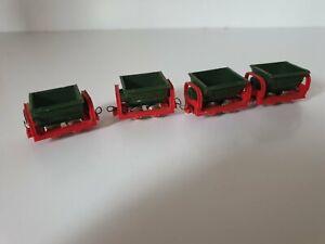 Wagon jouef Hoe lot de 4 wagonets mine