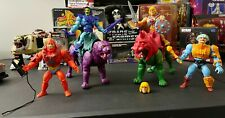 He-Man Masters of the Universe Origins Lot of 6 Figures - Panthor Battle Cat