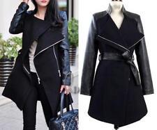 Leather Women's Basic Coats
