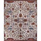 Area Rug Carpet Floor Indoor Accent Loomed Medallion Ivory Red 8 ft. x 10 ft.