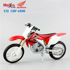 Maisto Mini 1:12 Scale motocross Honda CRF450R Diecast motorcycle model toy race