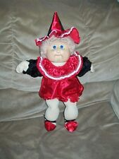 """COMPLETE 5 PC RED CLOWN HALLOWEEN COSTUME ONLY for 16-17"""" CPK Cabbage Patch Kids"""