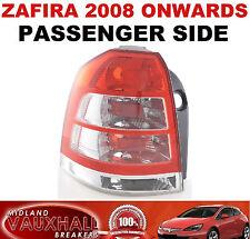 VAUXHALL ZAFIRA B 2008> BACK LIGHT REAR LENS LH PASSENGER SIDE SRI CDTI ECOFLEX