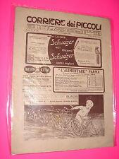 CORRIERE DEI PICCOLI anno 1913 n. 51 con sovracopertina pubblicitaria
