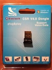 Bluetooth USB Adapter Dongle 4.0 for Windows 10/8/7/Vista/XP, macOS X, Linux