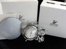 Swarovski Kris Bear Table Clock NIB with Certificate 212687