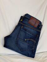 G-STAR RAW New Radar Low Loose Distressed Denim Jeans Mens W30 L32(GS1446)
