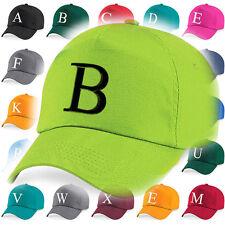 Kinder Stickerei Baseball Kappe Mädchen Jungen Junior Hut Sommer A Z Limette