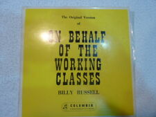 Billy Russell - On Behalf of the Working Class Man