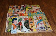 LOT OF 10 LOIS LANE SUPERMANS GIRLFRIEND DC COMICS LOT C