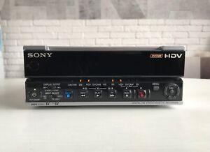 Sony HVR-M15E PAL/NTSC HDV DVCAM DV Digital Video Player Recorder LOW HOURS!