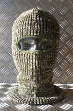 Brand New One (1) Hole Balaclava / Beanie Hat - Very Warm - Green Camouflage