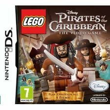 Nintendo DS DSi Lite jeu lego pirates of the Caribbean pirates des Caraïbes NEUF