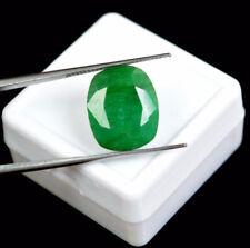 Esmeralda 7.35 Cts Natural Certificado IGL Zambia Emerald Gemstone Cushion Cut