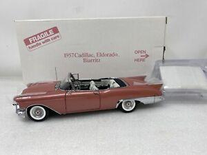1/24 Danbury Mint 1957 Cadillac Eldorado Biarritz Mauve SWEET
