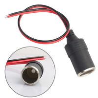 Cable Cigar Plug 12/24V Female Car Cigarette Adapter Socket Connector Lighter EN