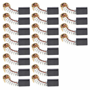20pcs 15mm x 10mm x 6mm Electric Carbon Brush fit for Motor Drill Angle Grinder