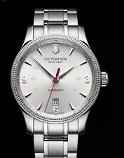 Swiss Army Men's 241715 Alliance  Swiss Automatic Silver Watch Was $825