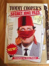 Tommy Cooper's Secret Joke Files  Book by John Fisher. BN