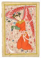 Hand Painted Persian Miniature Painting Gouache Natural Color On Paper Finest