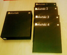 BEKSINSKI set 1-2-3-4 volume album ELEGANT BLACK CASE ! + GRATIS