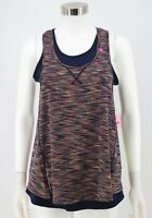 Tangerine NWT Tank Top Size Small Multicolor Layered Stretch Athletic Womens