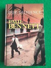 Due Diligence by Paul Bennett (Large Print Hardback, 2000)