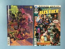 2x YOUNG JUSTICE comic # 9 VARIANT ~ 1st App Teen Green Lantern in FUTURE STATE