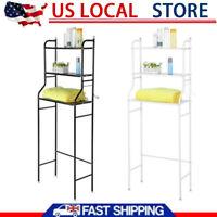 Bathroom 3 Tier Shelf Over Toilet Storage Rack Laundry Shelf Unit Organizer Rack