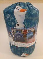 Disney Frozen II Twin 4pc Bed Set + Bonus Bag Reversible