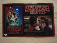 Chester Rushing - Tommy - Signed STRANGER THINGS 11x17 Photo - JSA (WP) COA - #1