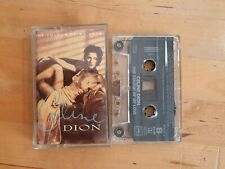 CELINE DION  the colour of my love cassette tape