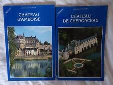 lot 2 guides Artaud chateaux de la Loire Amboise et Chenonceaux