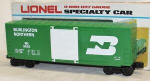 Vintage Lionel 6-9628 Burlington Northern Hi-Cube Box Car O Scale