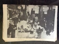 A2p ephemera 1970s article 1962 riots in british guiana