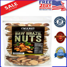 Raw Brazil Nuts 32oz Superior to Organic, No PPO, Probiotic, Large 2LB