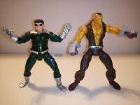 """Marvel Legends 6"""" Inch Spider-Man Origins Doc Ock & Shocker action figure lot"""