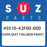 45510-42F00-000 Suzuki Cover,seat tail(non paint) 4551042F00000, New Genuine OEM