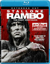 Rambo (2008) The Extended Cut   99 Minutes   New   Sealed   Blu-ray Region free
