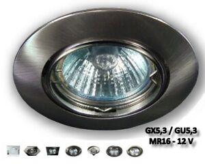 LED Einbaustrahler 12V Halogen Decken Lampen Leuchten Spots Einbauleuchten
