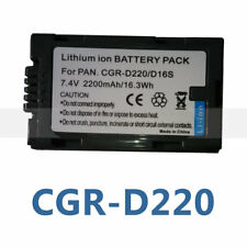 Battery for PANASONIC CGR-D210 CGR-D220 CGP-D14S CGR-D16S PV-DV800